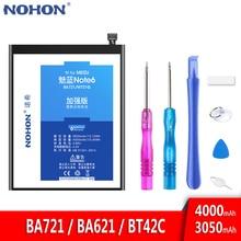 NOHON Meizu Meilan M6 M5 M2 6 5 2 BA721 BA621 BT42C 교체 Note6 Note5 휴대 Bateria