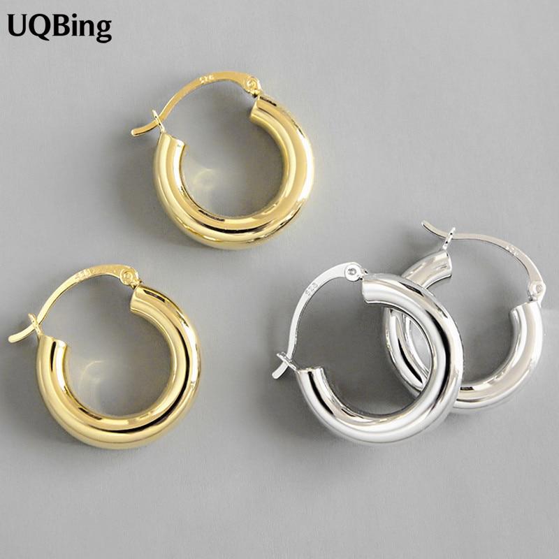 Женские-круглые-серьги-кольца-из-серебра-925-пробы