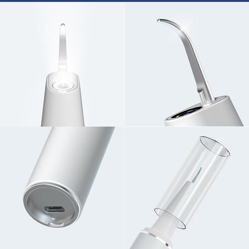 Smart Visual Electric Ultrasonic Dental Whitener Scaler Teeth Calculus Tartar Remover Smart App 500W HD Endoscope Cleaner Tooth enlarge