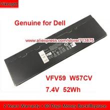 Genuine VFV59 Battery W57CV for Dell Latitude E7250 E7240 Laptop 7.4V 52Wh