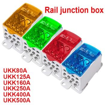 Repartidores unipolares de colores (80a - 400a) UKK80A UKK125A UKK160A UKK250A UKK400A UKK500A 8