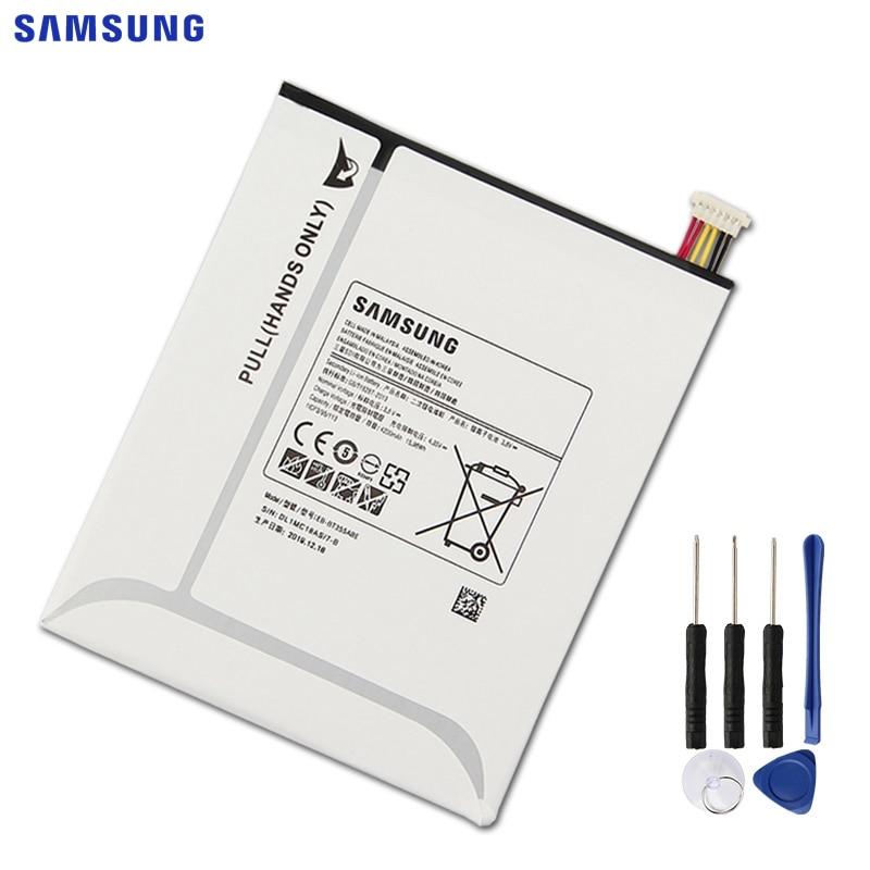 Оригинальная батарея Samsung EB-BT355ABE, EB-BT355ABA для Samsung GALAXY tba 8,0, GALAXY Tab 5, SM-T355, SM-T350, P355C, SM-P350