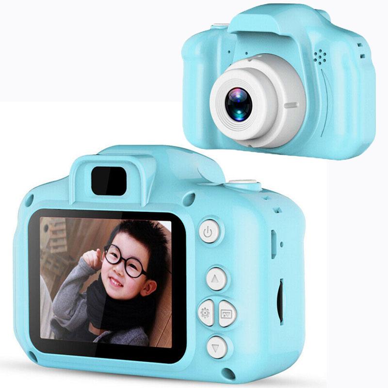Kids Miini Camera Photo Video Digital Cameras 2.0 inch 8MP Cute Child Camera Toys Children Birthday