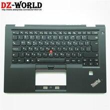 Nueva C funda superior palmest Con Teclado retroiluminado BG búlgaro para Lenovo Thinkpad X1 Carbon 4th Gen 4 Laptop 01AV219 01AV180