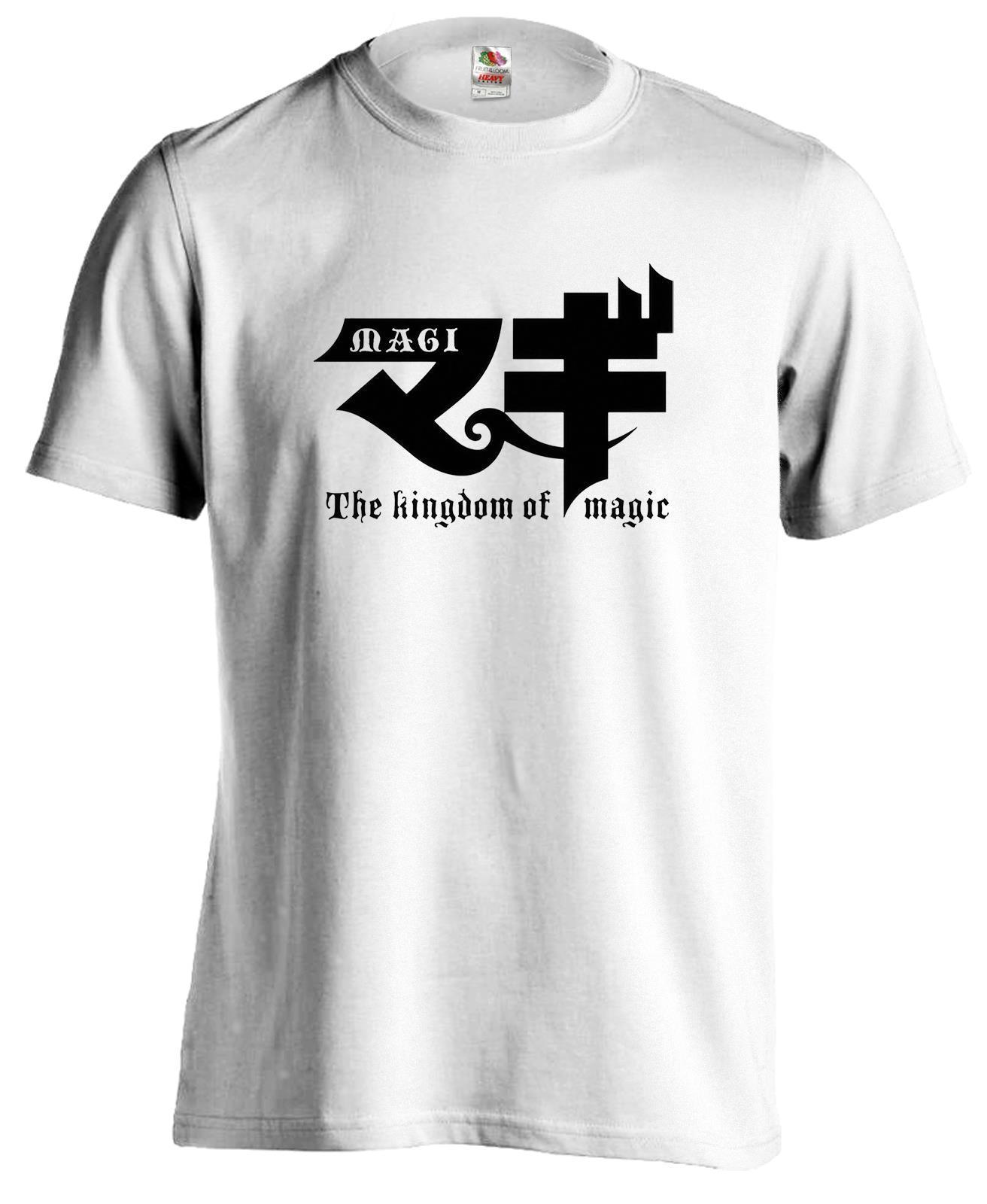 Magi el reino de la magia laberinto Anime Manga camiseta nueva camisetas divertidas camisetas nuevas Unisex divertidas Tops