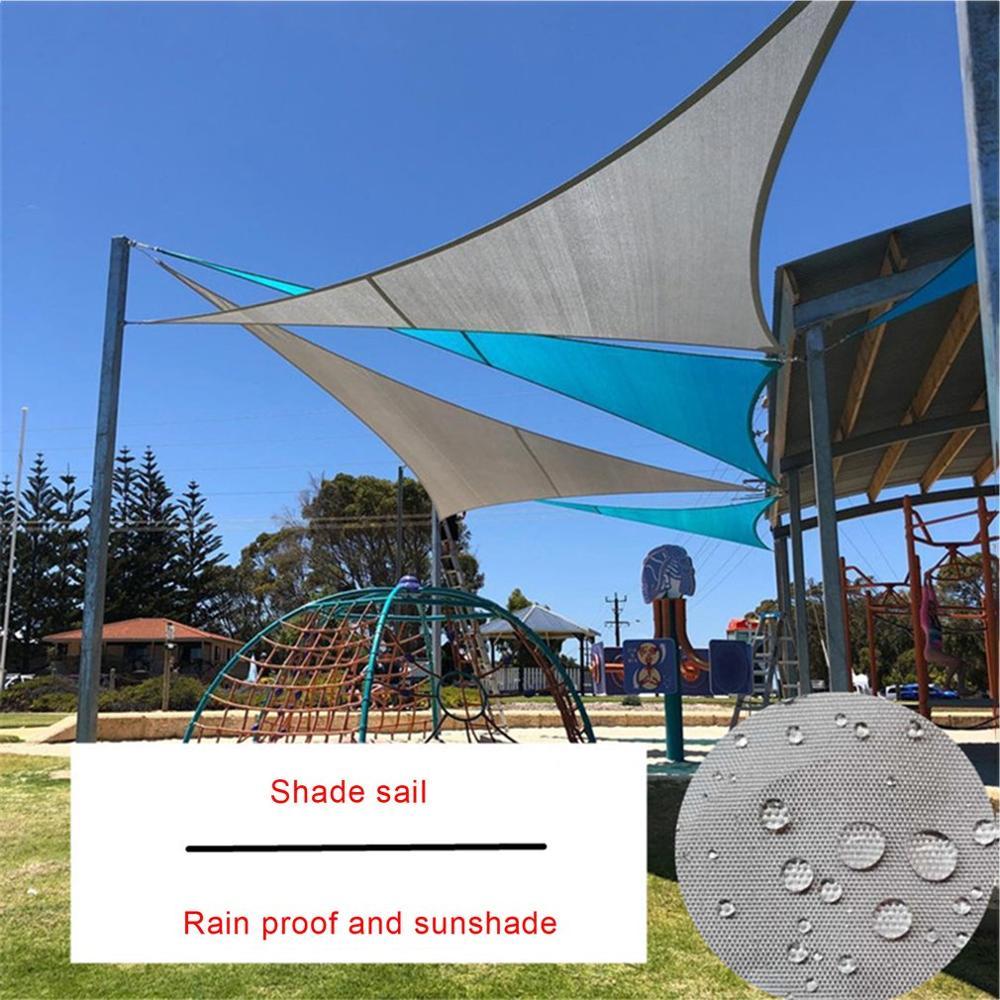 Sombrilla de protección solar impermeable, toldo para exteriores, jardín, Patio, piscina, toldo de vela de sombra, tela de sombra para Camping, Dropship grande