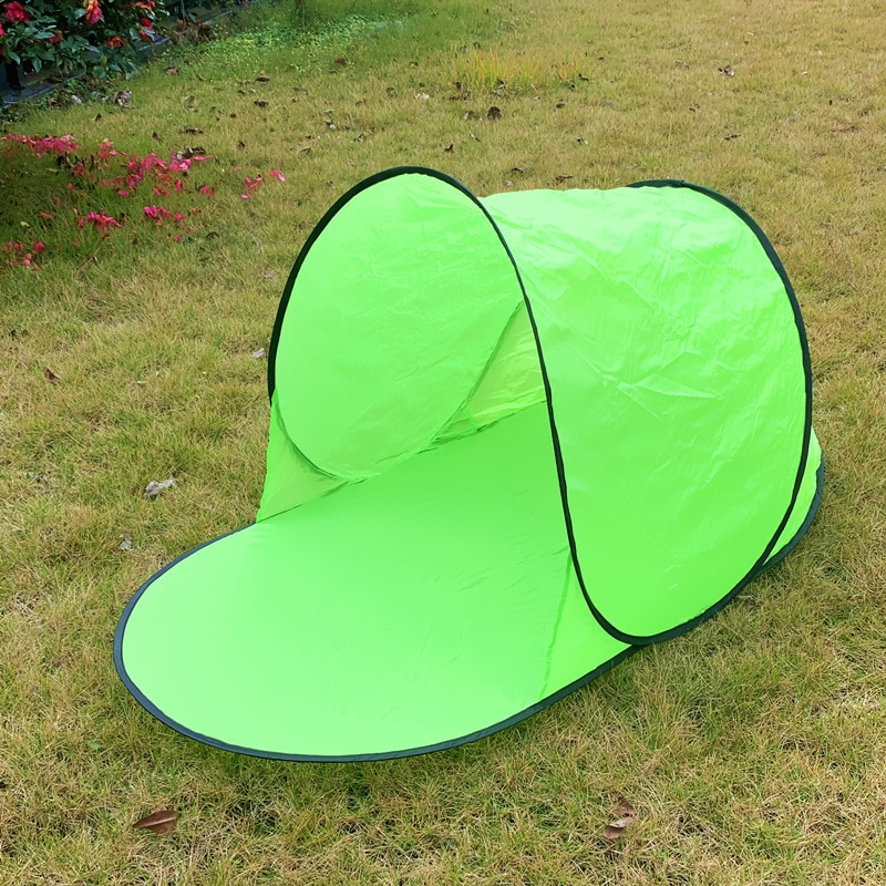 Outdoor Camping Tent Waterproof Anti UV Beach Tent Ultralight Pop Up Tent Summer Sea Sun Shelters Awning Sun shade Automatic