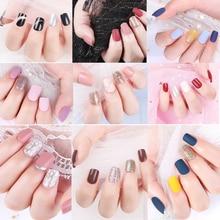 30 pièces faux ongles conseils artificiels pour la décoration faux ongles Extension avec presse conçue sur les ongles