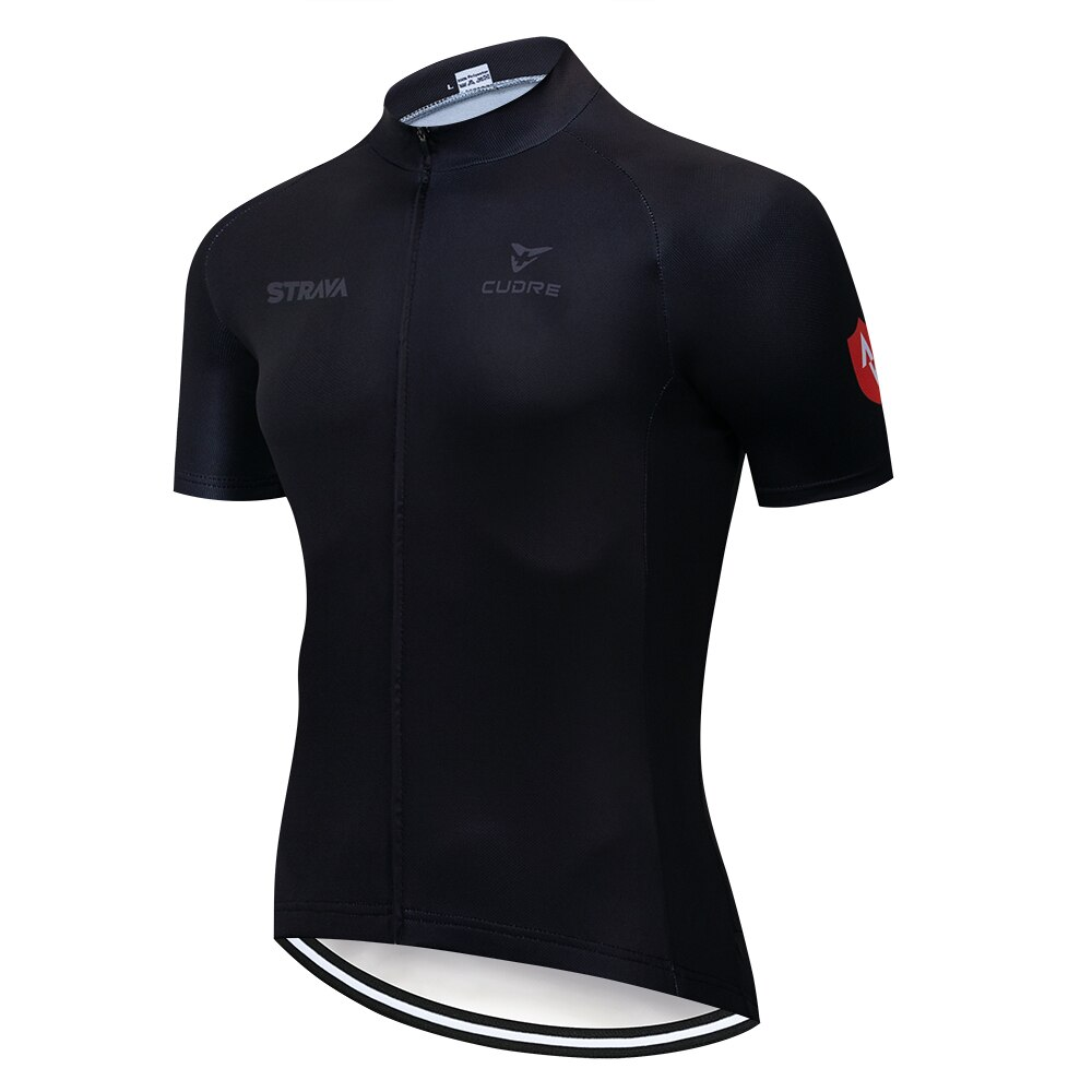 STRAVA 2019 Radfahren Jersey Tops Sommer Racing Radfahren Kleidung Ropa Ciclismo Kurzarm mtb Bike Jersey Hemd Maillot Ciclismo