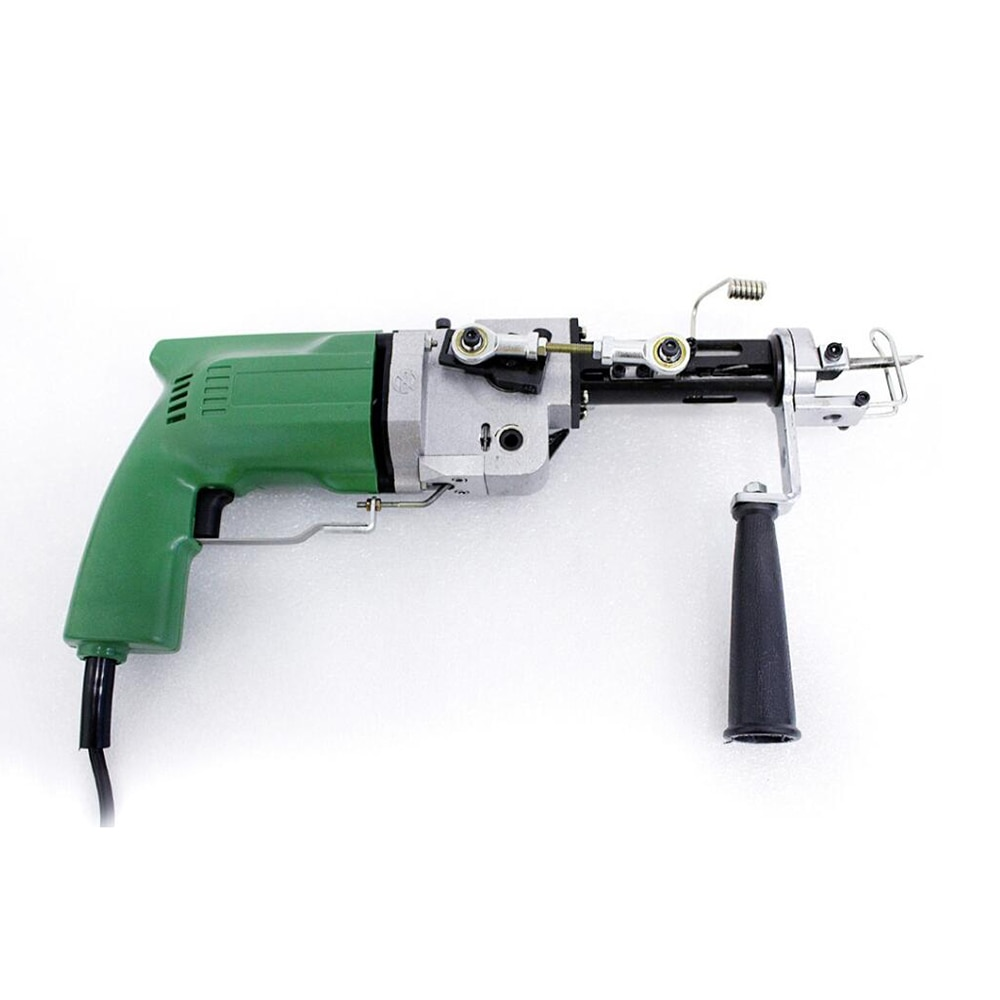 Electric Rug tufting machine wall tapestries Hand tufting gun ( Can do both Cut Pile and Loop Pile ) enlarge
