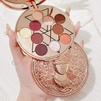 new goddess of luck ten color eyeshadow palette glitter pearlescent beginner eyeshadow palette eyeshadow beauty makeup palette