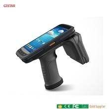 15m long range Android rugged Handheld reader mobile phone UHF RFID function Java sdk impinj r2000 chip multi tag reading