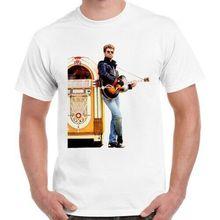 Camiseta Unisex para mujer 2784 con Póster Artístico de George Michael Faith Wham Jukebox