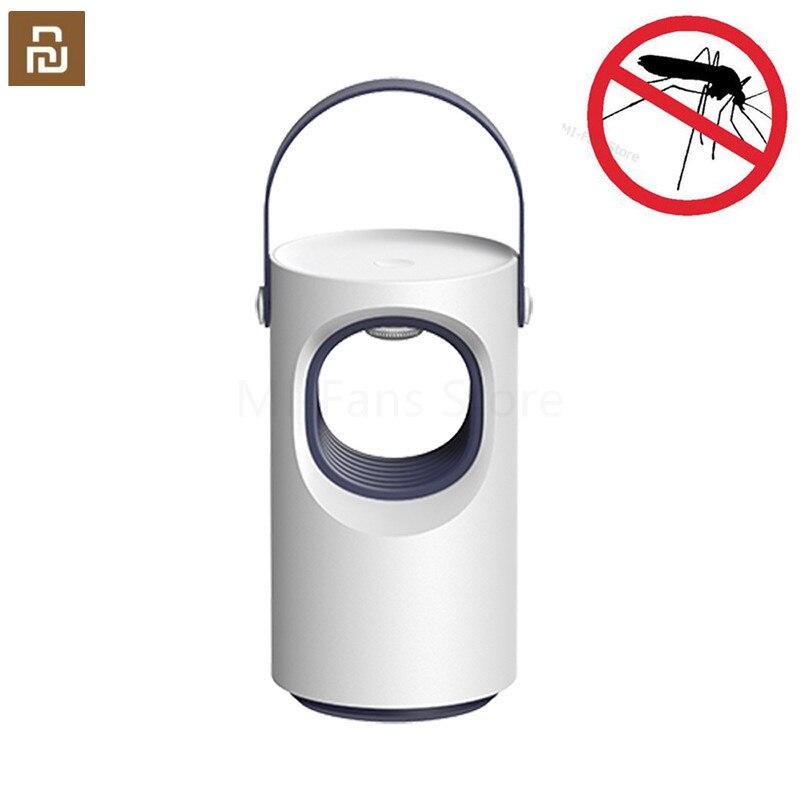Newest Youpin Purple Vortex USB Mosquito Killer LED Lamp Household Silent Night Light Lamp No radiation Anti-Mosquito Dispeller