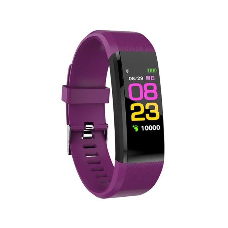 Pulsera de salud Frecuencia Cardíaca presión arterial banda inteligente Fitness Tracker pulsera Smartband para Smart Band 3 reloj inteligente