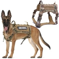 dog harness german shepherd pet dog harness vest nylon bungee dog leash harness for small large dogs