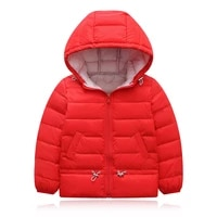 baby girls boys coat winter thick jacket kids casual warm jacket cotton outerwear 2021 children clothes csl002