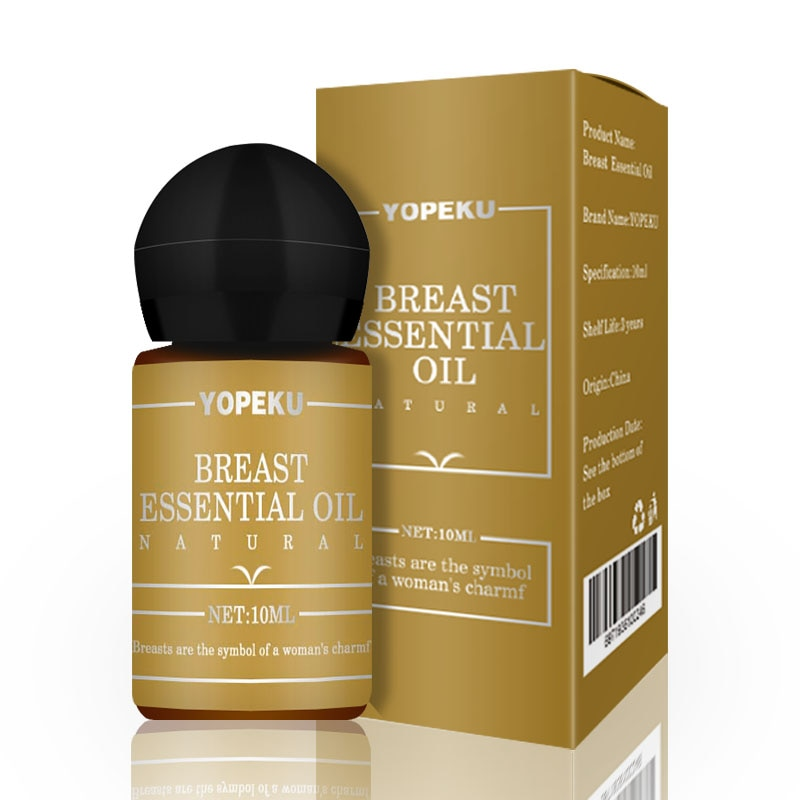10ml Breast Enlargement Rose Essential Oil for Breast Growth Big Boobs Firming Massage Oil for Women