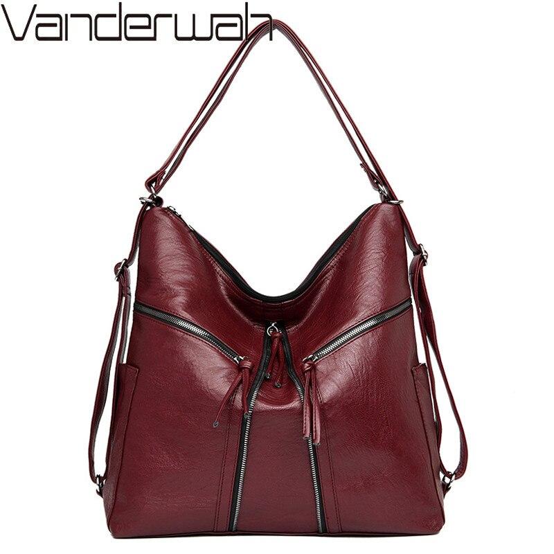 متعددة الوظائف حقائب النساء حقائب مصمم sكيس الرئيسي السيدات سعة كبيرة الإناث حقيبة كتف جلدية حقائب اليد
