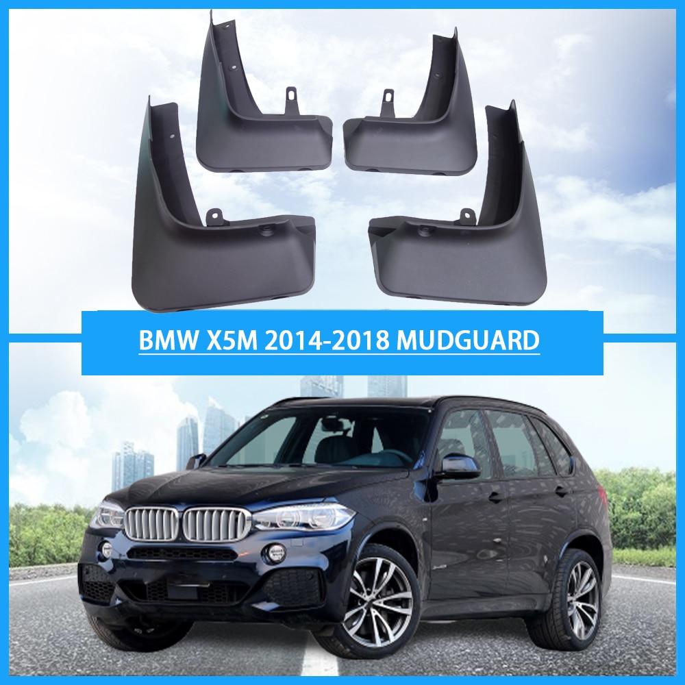 Guardabarros para BMW X5M guardabarros para BMW, guardabarros para coche X5M F15 2014-2018 sin pedal, accesorios para coche, guardabarros