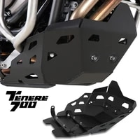 motorcycle aluminium skid plate bash frame guard protection cover for yamaha tenere 700 tenere700 t7 tenere700 rally 2019 2021