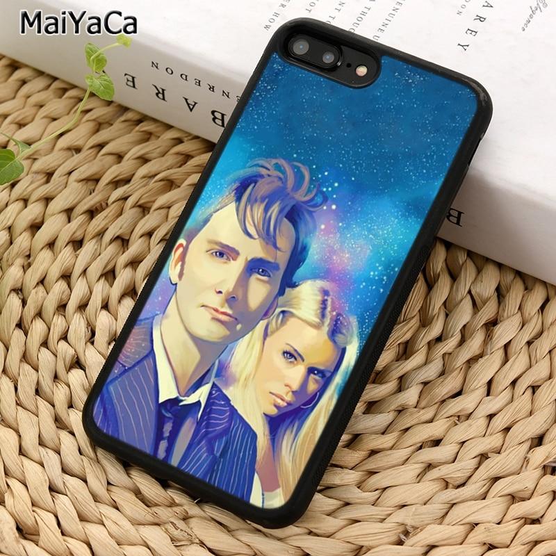 MaiYaCa Zehnte Arzt und Rose Tyler Dr Who Telefon Fall Für iPhone 5 6S 7 8 plus 11 12 pro X XR XS Max Samsung Galaxy S7 S8 S9 S10