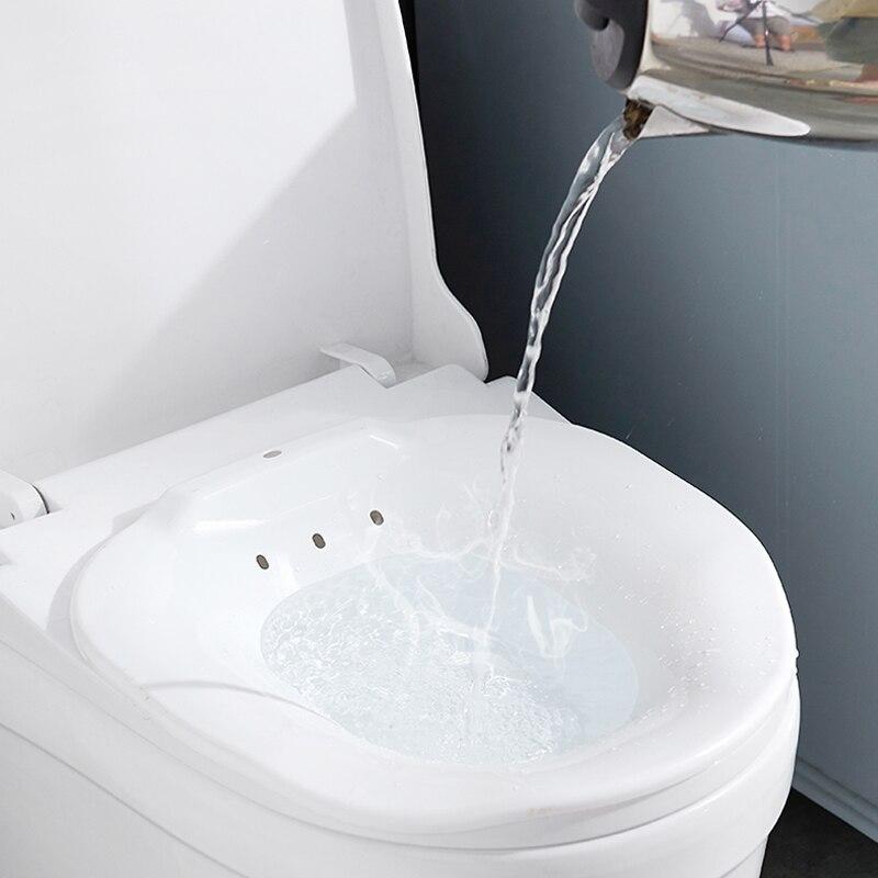 045 Woman Bidet Portable-Female Private Parts Pregnant Women Wash The Butt Basin Squat free bidet private toilet seat