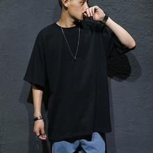 FOR 60-135KG BODY Black White OVERSIZE 2020 MEN'S ROCK Skateboard Hip Hop T shirt Short Sleeves Streetwear TOPS TEES TSHIRT