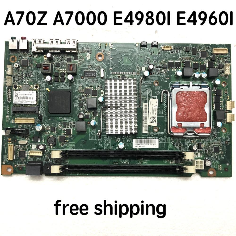 L-IG41S2 Para lenovo A70z A7000 E4980I E4960I Desktop Motherboard 09195-1 48.3BE03.011 89Y0902 Mainboard 100% totalmente testado trabalho