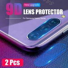 Lentille de Caméra arrière En Verre Trempé pour Samsung Galaxy M10 M20 M30 M31 M30s A10 A20 A30 A51 A50 A50s A71 A70 A70s Protecteur Décran