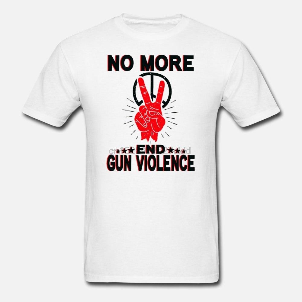 Pistola violencia 3 mujeres camiseta arma armas Demo hombres camiseta NO MORE END