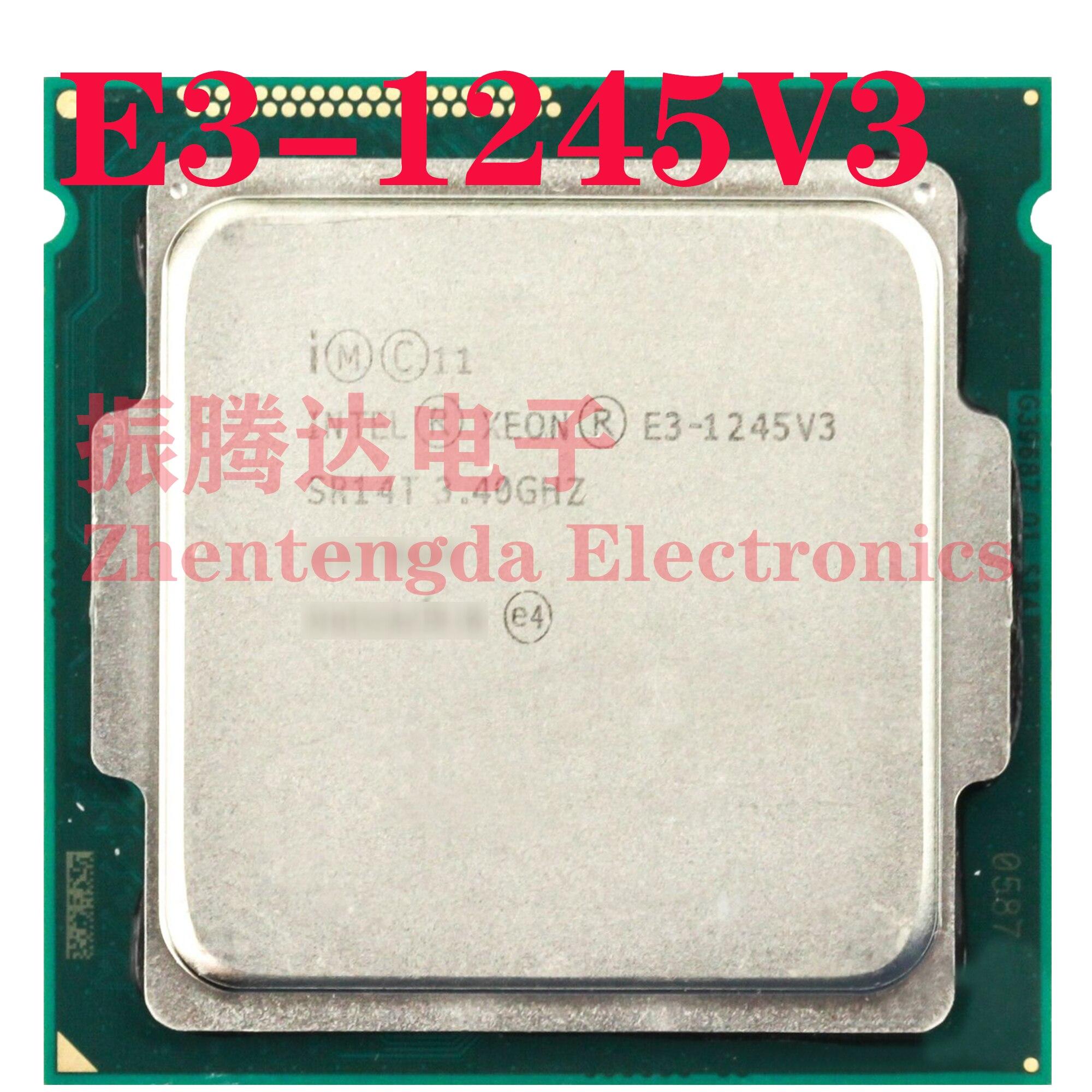 Intel Xeon E3-1245 v3 3.4GHz 8MB 4 Core 8 Thread LGA 1150 E3-1245V3 CPU Processor