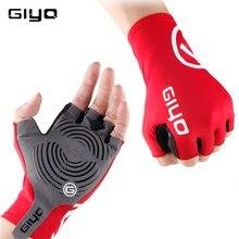 Giyo anti-dérapant Gel vent cyclisme demi doigt gants respirant extérieur Lycra tissu moufles gants de VTT course route vélo gant
