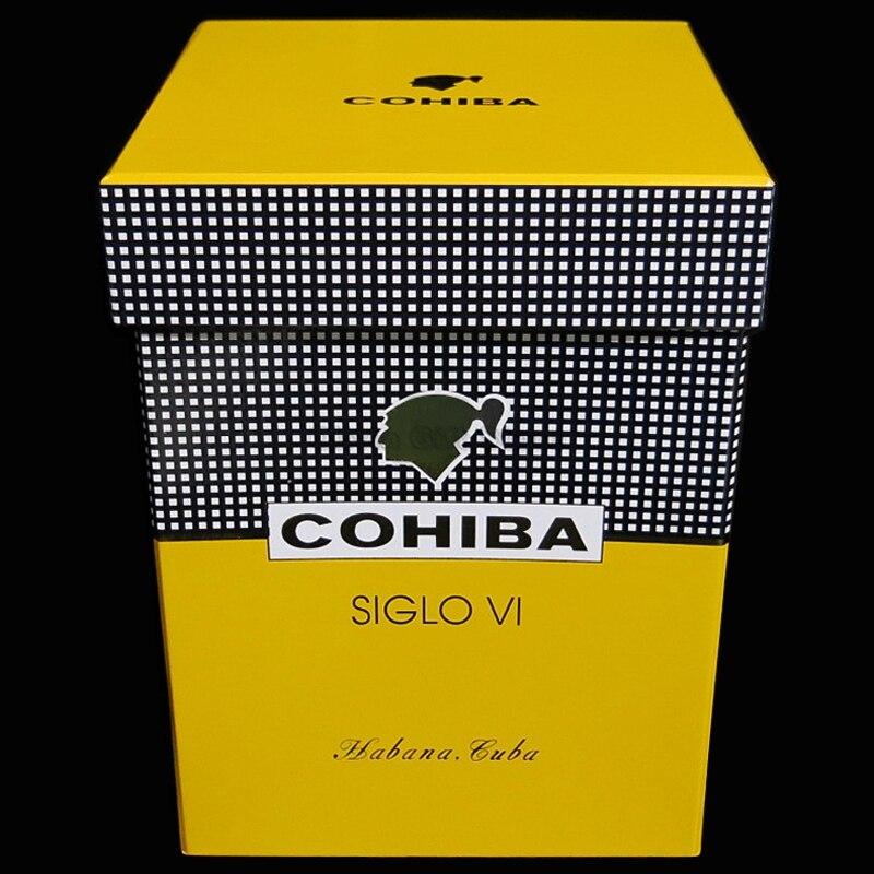 COHIBA Fine Porcelain 5-10 Fingers Cigar Tube Siglo VI Extra Jar Humidor Box Cigar Cigarette Humidor Tobacco Storage Holder enlarge