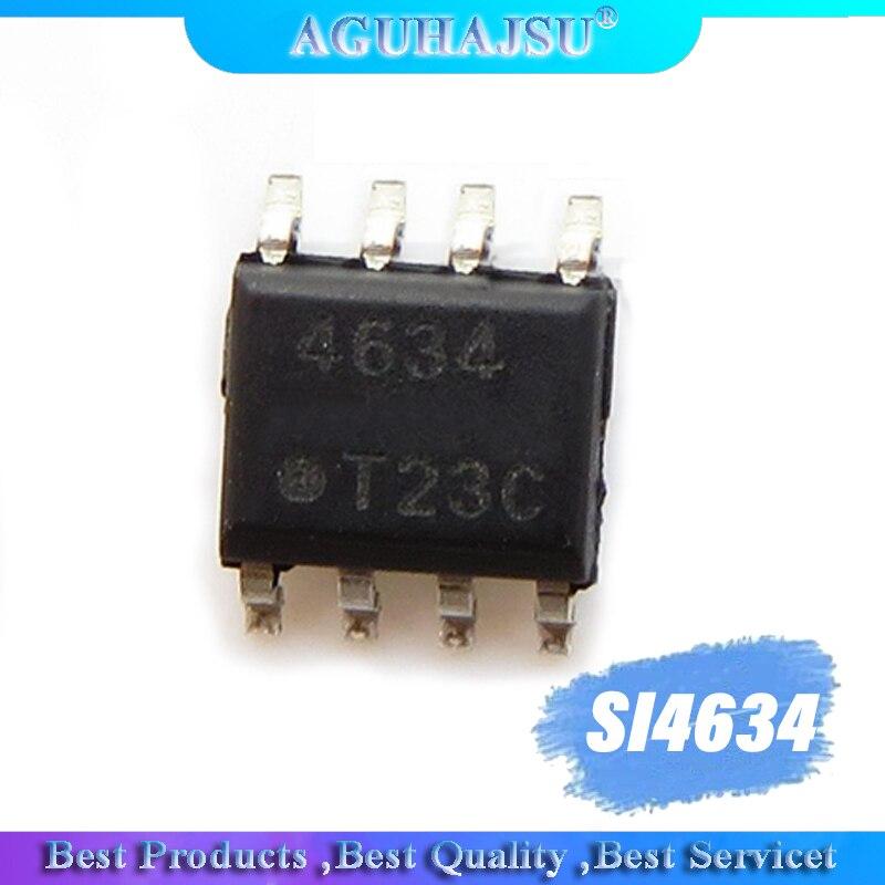 5pcs SI4634DY-T1-E3 SI4634 4634  SOP8 offen use laptop chip 100% new original