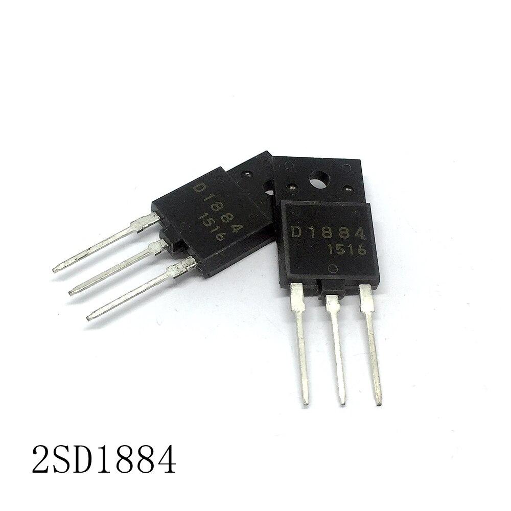 Color TV hd tubo 2SD1884 TO-3PF 5A/800V 10 unids/lote nuevo en stock
