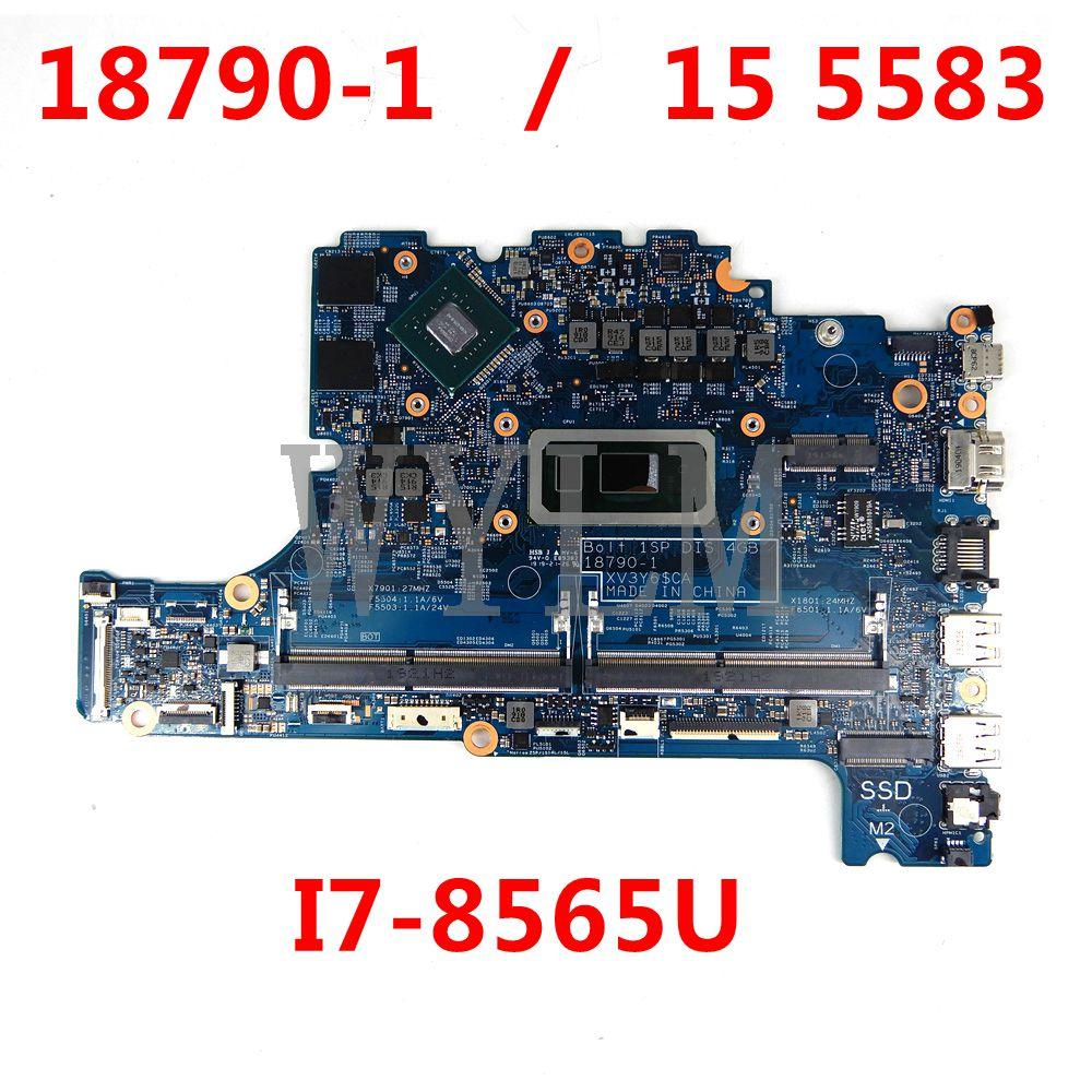 لللوحة الأم Dell OEM Inspiron 15 (5583) I7-8565U اللوحة الرئيسية PPXC9 0PPXC9 0PPXC9 18790-1 تم اختبارها بشكل جيد