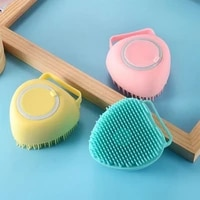 baby bath brush silicone scrubber multifunction cleaning massage accessories for babies body cleaning skin exfoliating scrubbing