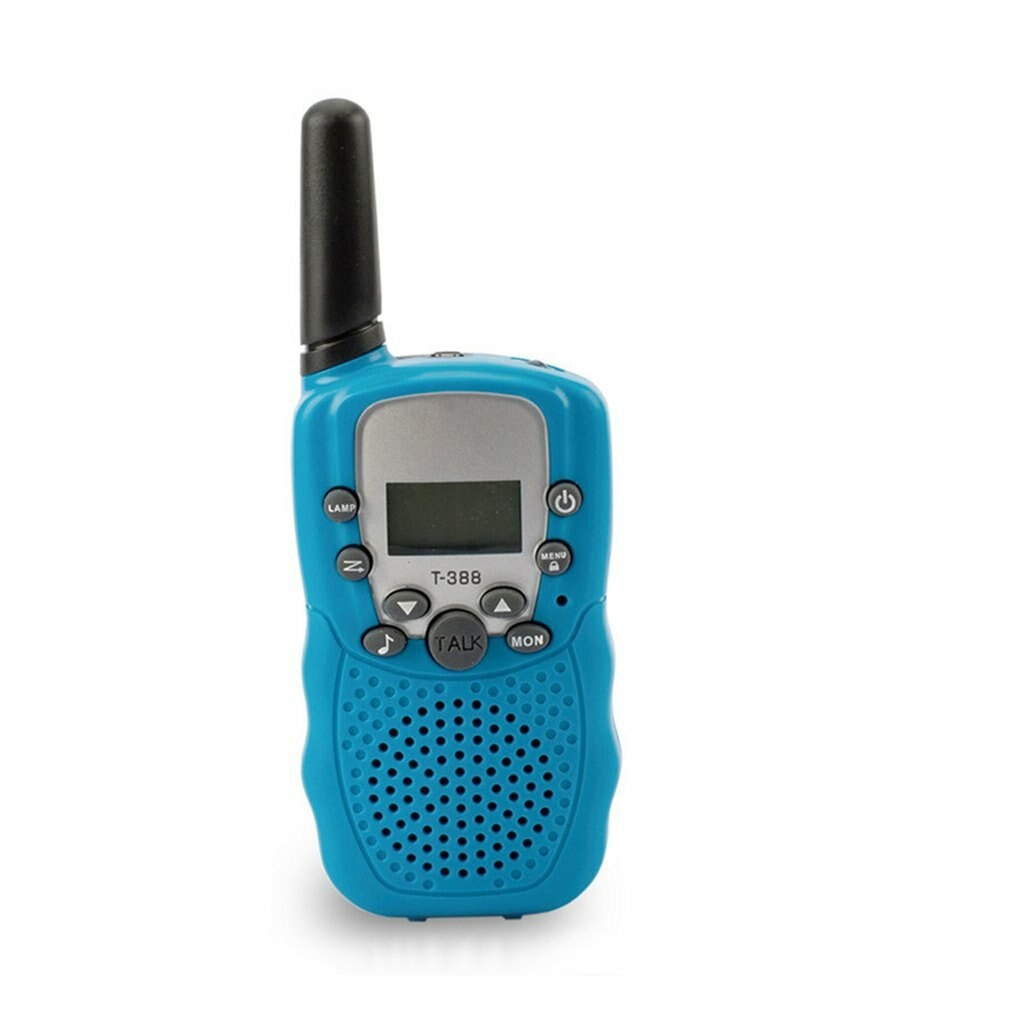 T388 Walkie Talkie Multifunctional Child Walkie Talkie Parent Child Interaction Artifact One Touch Call Function Blue