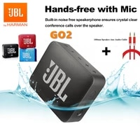 original jbl go 2 go2 wireless bluetooth speaker mini waterproof outdoor speaker with microphone boombox 2 with aux audio cable