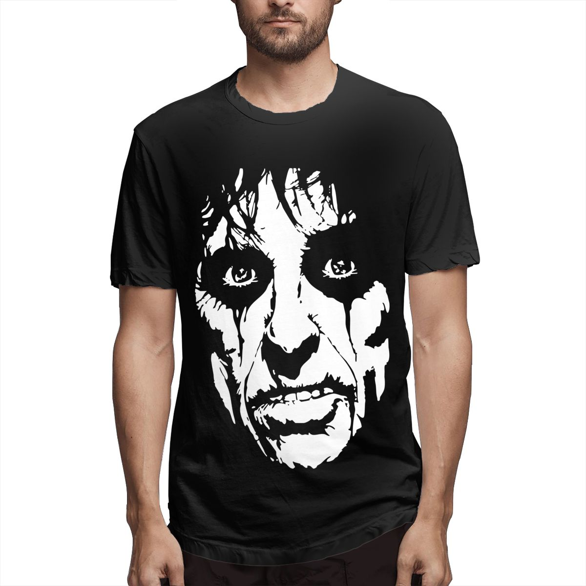 Camisetas humorosas de Alice Cooper para hombre, camiseta de manga corta con...