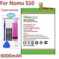 Новый аккумулятор Wisecoco для сотового телефона Nomu S10, Высококачественная замена + номер отслеживания