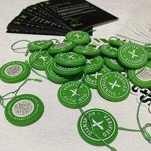 5 set/lotto 2020 etichetta StockX etichetta circolare verde Rcode adesivi volantino fibbia scarpa in plastica verificato X etichetta autentica