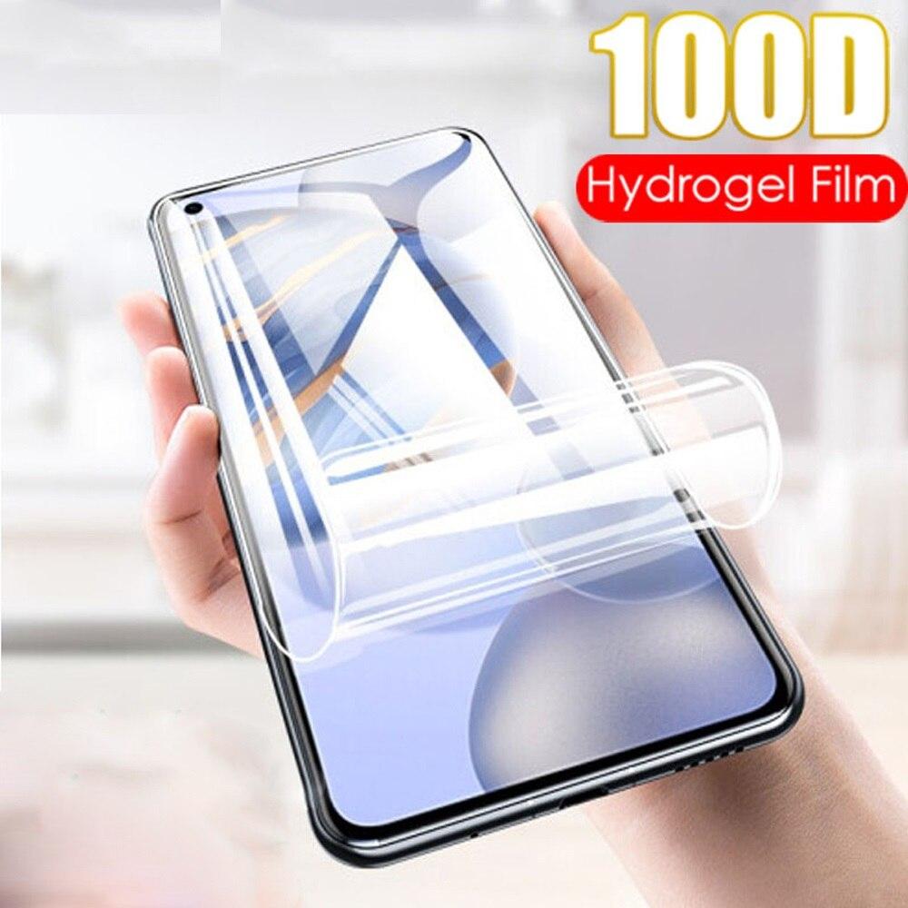 Filme de hidrogel para oukitel c18 pro protetor de tela película protetora cobertura completa para oukitel c18 pro filme não vidro