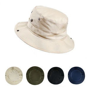 Unisex Bucket Hats Fishing Cap Polyester Foldable Shade Outdoor Mountaineering Travel and Play