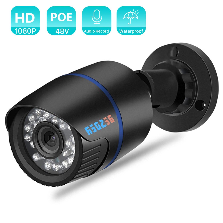 BESDER كاميرا IP خارجية 1080P مقاوم للماء 2.0MP السلكية كاميرا الأمن البلاستيك قذيفة AI كشف الحركة 2.0 P2P رصاصة XMEye
