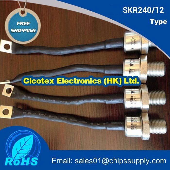SKR240/12 SKR240-12 power spiral diode module
