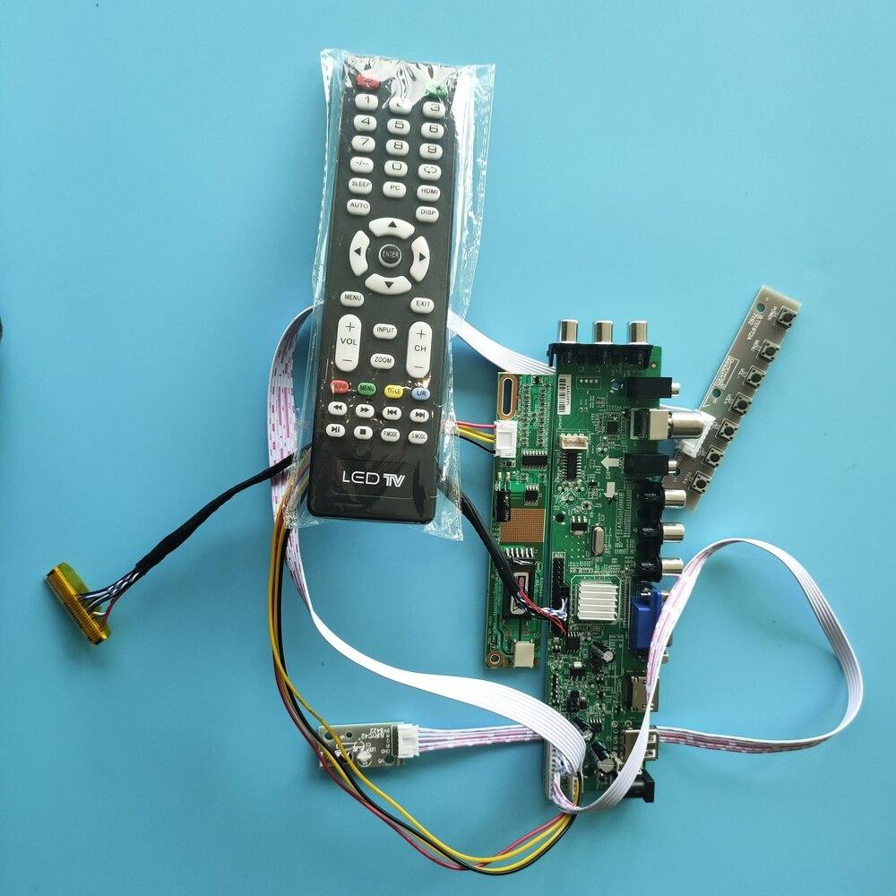 Kit pour B154EW01 télécommande 1 CCFL carte contrôleur HDMI LCD DVB-T DVB-C panneau TV VGA 30pin USB AV numérique 1280X800 15.4