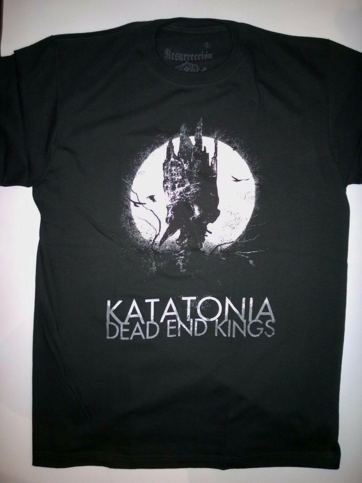 KATATONIA, camiseta grande, anatema, Dying, novia, paraíso perdido, Opeth, tendencia de octubre