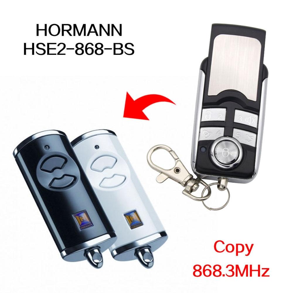 HORMANN HSE2-868-BS HSE2 HSE4 BS пульт дистанционного управления 868,3 МГц ворота гаража двери HORMANN HS5 HSE 2 4 868 МГц гаражные ворота дистанционного управления
